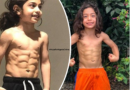 Iranian Boy With Six-Pack