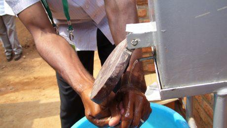 100 units Hand Washing Stations