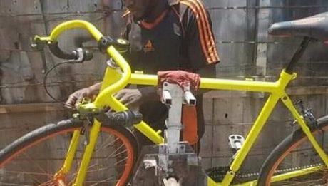 Umar Yusuf Builds Modern Bicycles