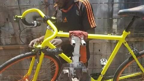 Umar Yusuf Builds Modern Bicycles