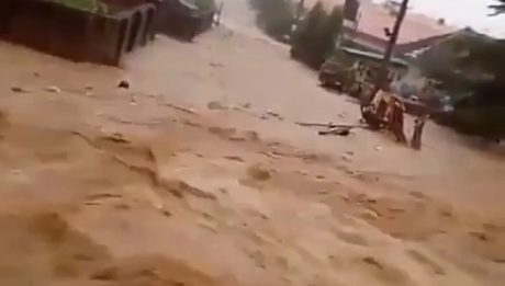 Flood Sweeps Man Away