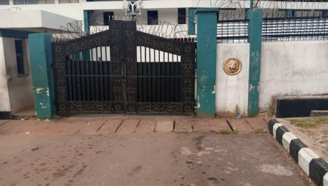 Security Operatives At Edo State House