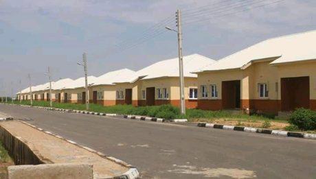 mass housing unit in Yobe state