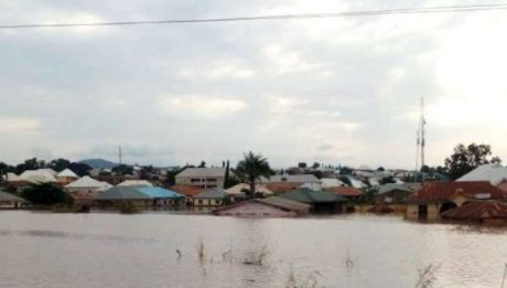 middle-aged man has been swept away by flood in Iwaro Oka community