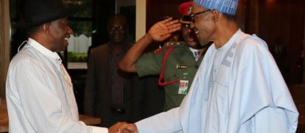 Buhari hails Goodluck Jonathan in birthday message