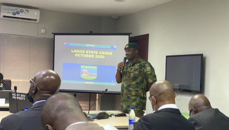 Nigerian army admits to having live rounds at Lekki Toll Gate protests