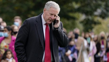 White House Chief Of Staff, Mark Meadows, Tests Positive For COVID-19