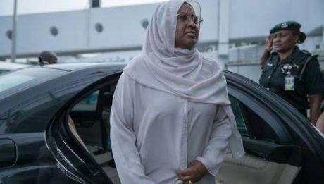 Aisha Buhari's whereabouts