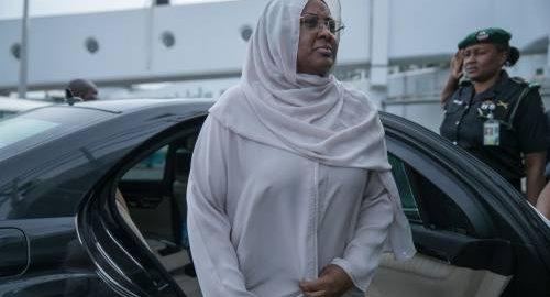 Aisha Buhari Relocates To Dubai