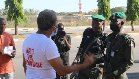 DSS Arrests Lagos-based Lawyer During 'One Man Protest' In Abuja