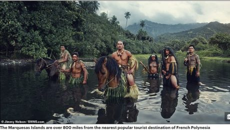 Isolated Marquesas Islands
