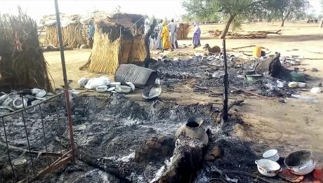 Boko Haram Currently Attacking Dikwa In Borno