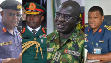 Buratai, Olonisakin, Two Other Service Chiefs Get Eight Flashy Vehicles