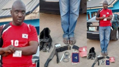 Man Impersonating Superintendent Of Police & EFCC Operative