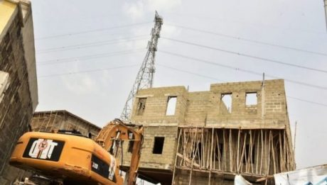 Lagos Demolishes Some Properties In Banana Island
