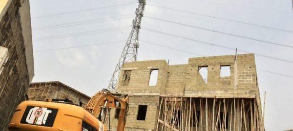 Lagos Demolishes Some Properties In Banana Island