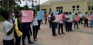 Ondo Nurses Protest Two Months' Salary Arrears