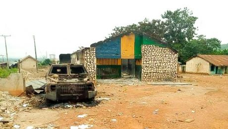 Gunmen attack yet another police station