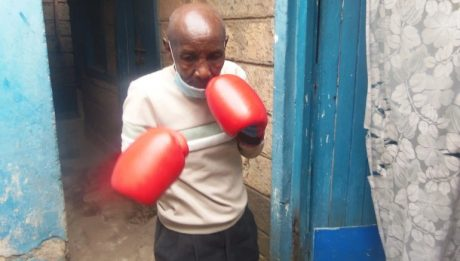 Kenyan boxers' struggle with depression and poverty