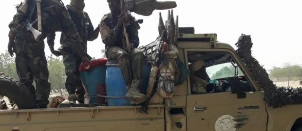 Chad military says it killed 300 rebels