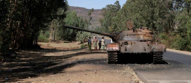 Eritrean troops open fire in Tigray's Adwa