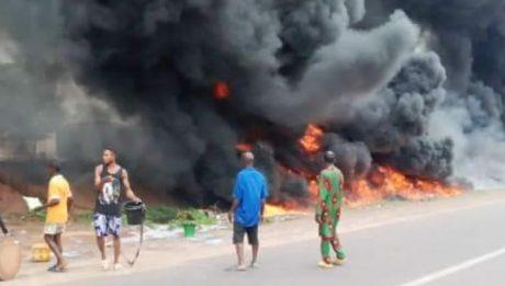 12 confirmed dead in Benue tanker explosion