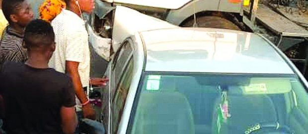 Tanker accident causes gridlock on Oshodi-Isolo expressway