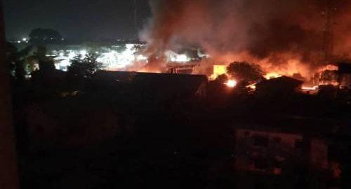 Many Prisoners Escape As Gunmen Set Owerri Prison On Fire