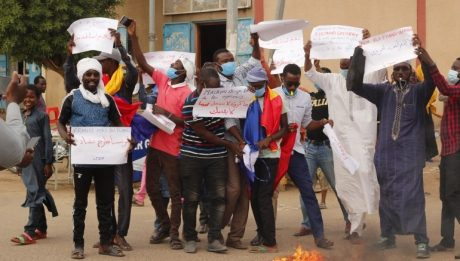 Chad police use tear gas to disperse anti-military gov't protests