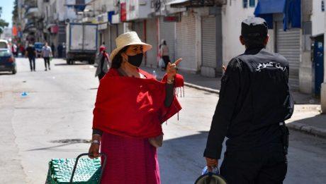 Tunisia begins week of strict COVID lockdown