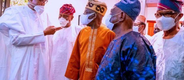 Attahiru: Tinubu, Akande, Others Visit Buhari