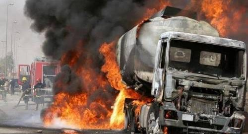 How Fuel Tanker Exploded Early Morning In Lagos.