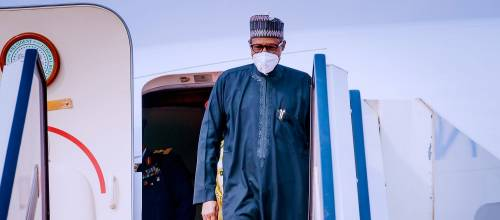 Buhari Returns To Nigeria From France