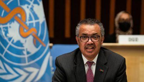 WHO chief backs 'pandemic treaty'