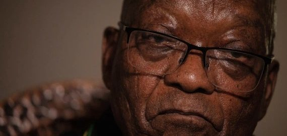 Jacob Zuma turns himself in to South African police