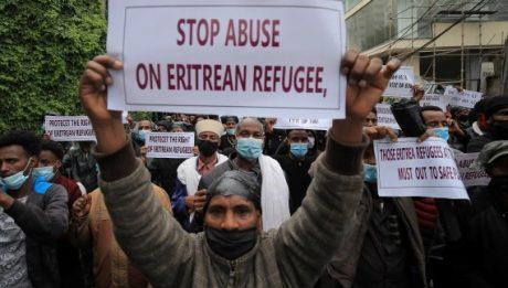 Eritreans refugees demand protection amid Tigray war