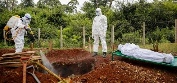 Africa COVID deaths surge 43 percent in a week