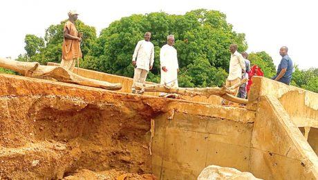Flood destroys bridges, rice farms in Bauchi