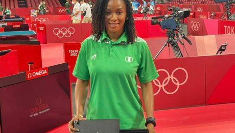 Nigeria's Funke Oshonaike inducted into ITTF 'Club 7'
