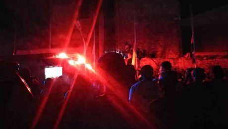 Fire erupts in building at TB Joshua's funeral