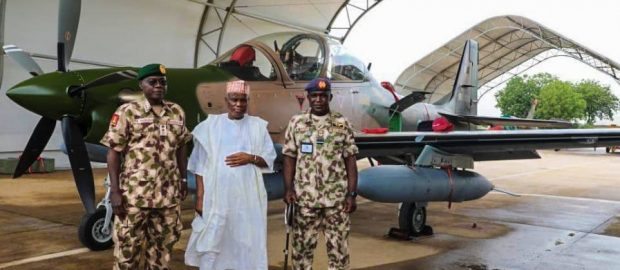 Air force Super Tucano war jet arrives Nigeria