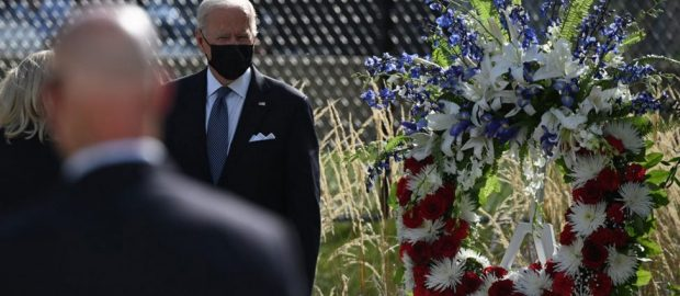 Biden again defends Afghanistan pullout on 9/11