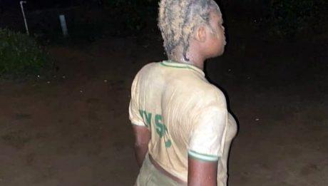 Nigerian soldier filmed assaulting female corps member