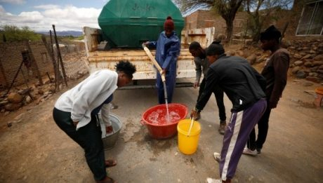 People in Africa threatened by climate change
