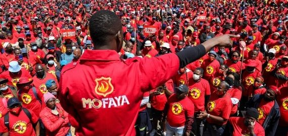 South African car industry fears impact as union starts strike