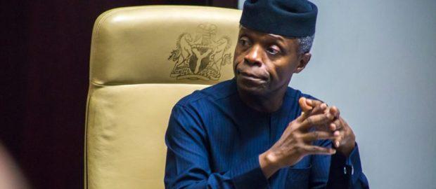 Osinbajo criticises CBN's forex policy