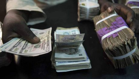 Naira plunges at official market
